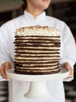 mocha-torte